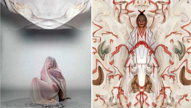 Exposition à la galerie Venise Cadre de Casablanca