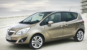 Opel Meriva : premiers pas, double annonce