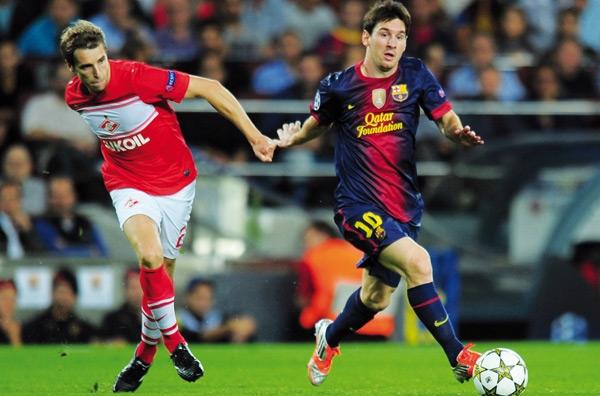 Ligue des Champions : Messi sauve (encore une fois)  le FC Barcelone