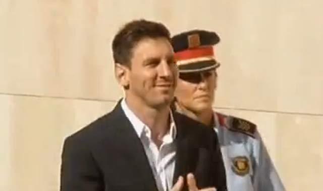 Messi et son père devant la justice pour fraude fiscale présumée