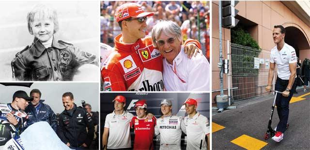 Il était une fois… Michael Schumacher (re)prend sa retraite