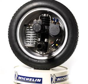 Michelin Active Wheel: Bibendum réinvente la roue
