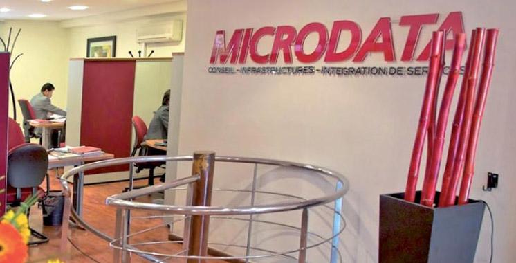 Microdata : Un résultat net en repli  de 18,1% en 2015