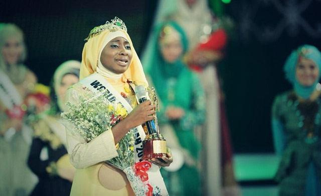 Une nigériane couronnée «Miss musulmane» 2013 en Indonésie