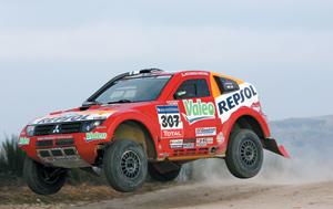 Mitsubishi respecte la décision de l'annulation du Dakar 2008