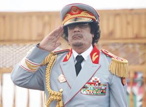 Libye : Kadhafi s'en prend à la Fifa et l'accuse de corruption