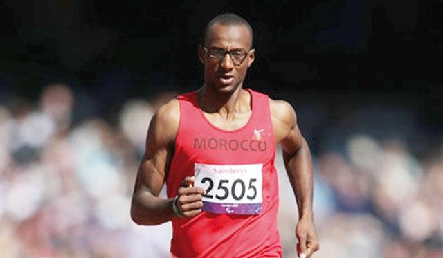 Jeux Paralympiques Londres 2012 : Mohamed Amguoun brille  et remporte le bronze