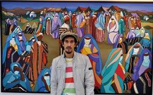 Mohamed Larbi Zaidane, un féru d'arts plastiques