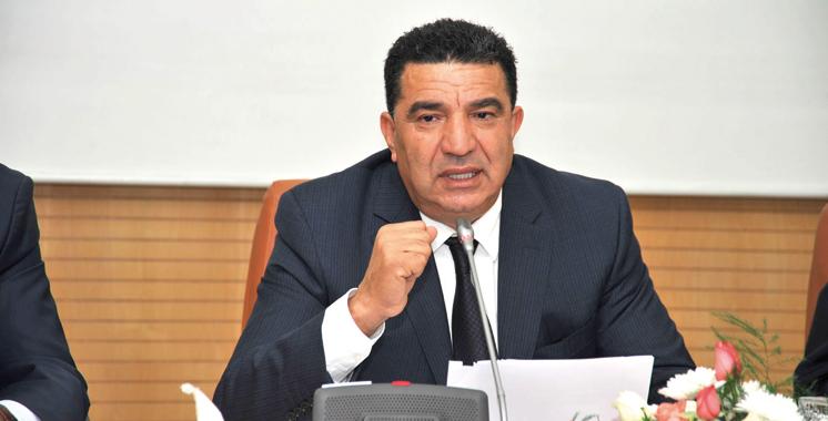 Mohamed Moubdii, ministre délégué chargé de la fonction publique et de la modernisation de l'administration.