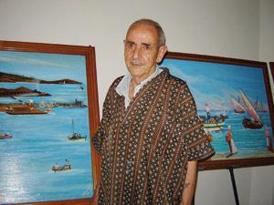 Nador : Mattougui expose ses tableaux