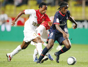 Le PSG s'écroule à Monaco