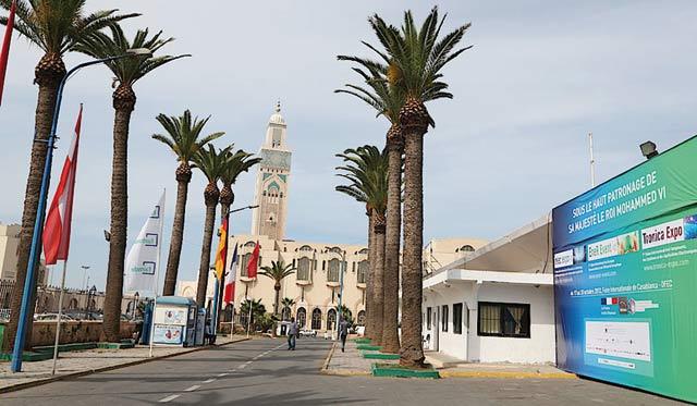 Trois événements en un à Casablanca