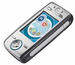 Le Motorola E680 : plus vite que la musique