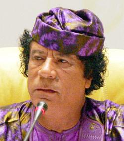 Un Kadhafi en cache un autre