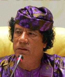 Kadhafi béni par l'Oncle Sam