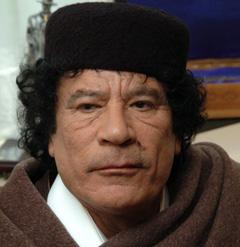 Quand Kadhafi s'autocritique