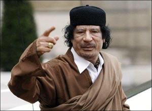 Kadhafi accuse la CPI de terrorisme international