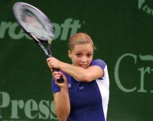 Bahia Mouhtassine assure l'entraînement du tennis féminin