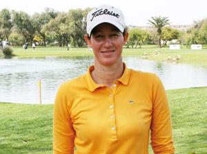 Mounia Amalou Sayeh : «Mon premier objectif est d'être parmi les soixante premières golfeuses»