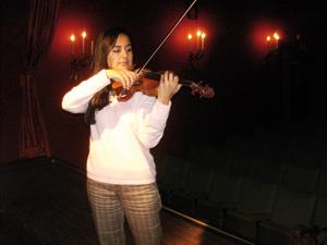Tanger : Sous le charme de la violoniste Mounia Rizkallah