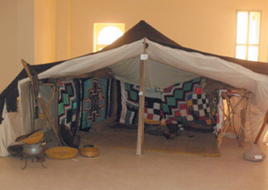 Suivez le guide au musée des arts du Sahara