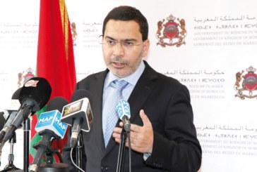 El Khalfi: le gouvernement veut établir une communication permanente sur les incidents d'Al Hoceima