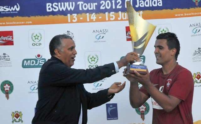 Tournoi international de Beach soccer d El Jadida : La Suisse remporte le titre