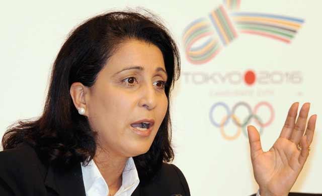 Nawal  El Moutawakel  élue vice-présidente  du CIO
