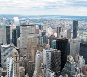 Architecture : New York, capitale des gratte-ciel, n'a qu'une tour «verte»