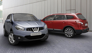 Nissan : Qashqai+2 et Qashqai restylé