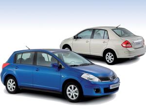Nissan Tiida : Plus d'un million d'unités produites