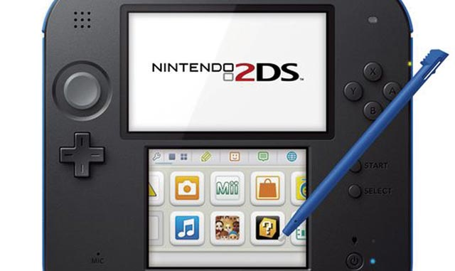 Nintendo annonce la 2DS, une version low cost de la 3DS