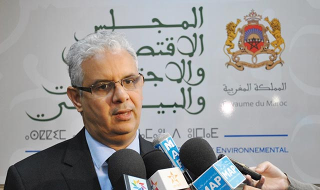 CESE: Nizar Baraka tire la sonnette d'alarme