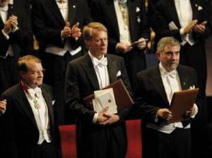 Les prix Nobel remis à Stockholm lors d'un cérémonial immuable
