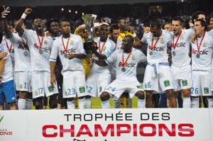 Trophée des champions français : Les Marseillais conservent leur titre