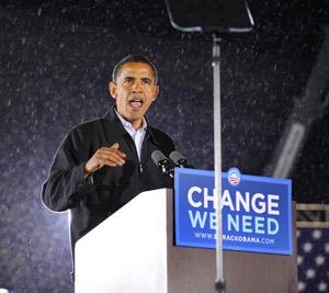 Barack Obama crédité de onze points d'avance