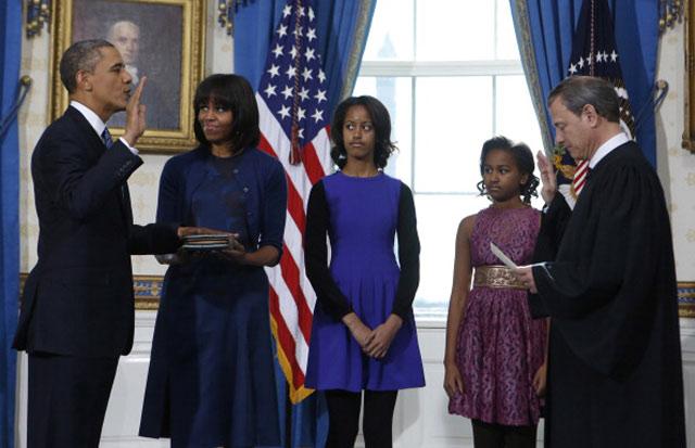 Barack Obama entame son second mandat