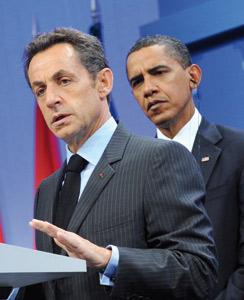 Sarkozy et Obama butent sur l'Afghanistan et le climat