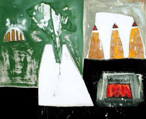 Mourabiti peint ses souvenirs d'enfance à Marrakech