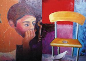Saïd Haji peint la mémoire