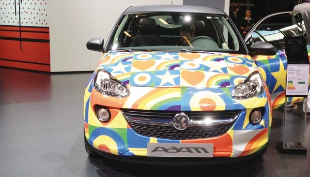 Opel : Adam et Eve
