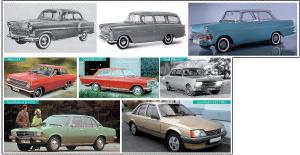 Opel Rekord : 33 ans de gloire