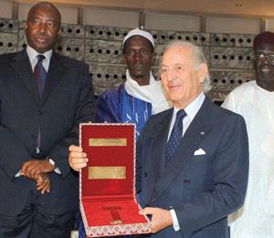 Maroc-Sénégal : Othman Benjelloun reçoit les clefs du village de Latmingué