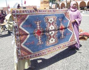 Ouarzazate : Tomber de rideau sur le 1er festival du tapis ouazguiti
