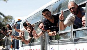 L'Israélien Shalit libéré en échange de 500 Palestiniens