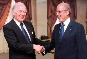 Le président de l'UBM, Othman Benjelloun, obtient le soutien du président mauritanien à la création d'une monnaie unique au Maghreb