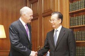 La Chine offre son aide financière à la Grèce