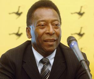 Malentendu entre Pelé et Robinho