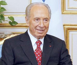 Shimon Peres à Paris pour conforter l'amitié franco-israélienne