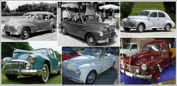 Peugeot 203 : American look